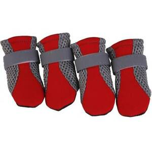 Small Dog Pet Puppy Boots Waterproof Anti-Slip Shoes Paw Protective Rain Booties