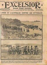 Indian Military & Australia Army Dardanelles Gallipoli British Army  WWI 1915