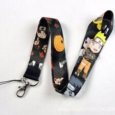 Naruto Kakashi Uchiha Sasuke 1pc Anime Mobile Phone ID Strap Lanyard Random Ship