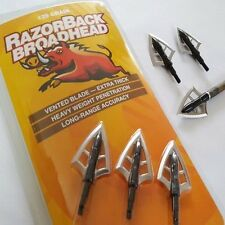 RAZORBACK Broad head 1set Jungle max bow Rests Belt Archery Hunter Grain Hunting