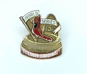 Authentic St. Louis Cardinals 1987 World Series Press Pin ~ Estate Fresh