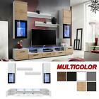 Wall Unit Entertainment Media Center Modern Living Room Furniture TV Stand Shine