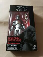 Star Wars Black Series 6? Captain Phasma Quicksilver Baton Battle Damage NEW