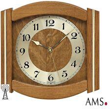 AMS 44 Radio Reloj De Pared madera maciza haya Cocina oficina 640