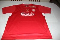 CAMISETA OFICIAL RETRO LIVERPOOL FINAL CHAMPIONS LEAGUE 2005 ISTAMBUL T/XL SHIRT