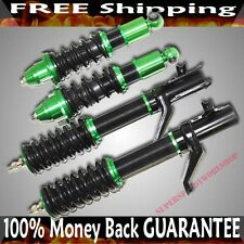 GREEN Coilover Suspension Kits fits 2002-2005 Acura RSX BaseLType-S Coupe 2D