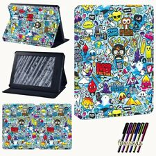 For Amazon Kindle Paperwhite 1/2/3/4 /Kindle 10th 2020 Leather Case Stand Cover
