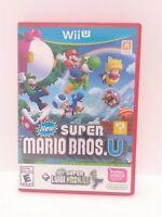 New Super Mario Bros. + New Super Luigi U - Nintendo Wii U Game - Fast Shipping!