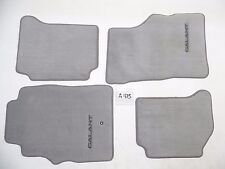 NEW OEM FLOOR MATS GREY 99 00 01 02 03 GALANT MITSUBISHI front rear