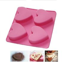 Heart Shape Silicon Cake Mould,Cake Decoration,Mould for birthday and parties.