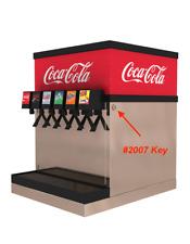Coca Cola Post Mix Key Switch Key #2007