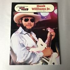 Hank Williams Jr. Ez Play Today for Organs Pianos & Electronic Keyboards No 56