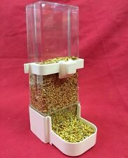 Alimentador del Pájaro x 1 bebedor de agua semilla Clipper fuente Jumbo Budgie cacatúa Finch