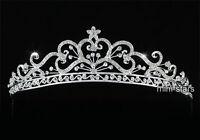 Bridal Wedding Vintage Style Heart Tiara use use Swarovski Crystal T1624