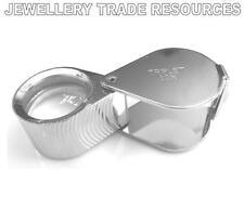 Bijouteries magnifier loupe lunettes 21mm triplet lens loupe 10X œil en verre