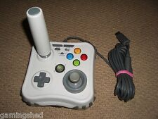MICROSOFT XBOX 360 ARCADE GAME Stick Retrò JOYSTICK USB-BIANCO MAD CATZ JOY PAD