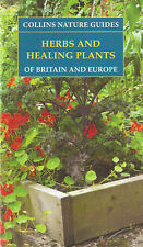 PODLECH NATURAL HISTORY BOOK COLLINS NATURE GUIDE HERBS & HEALING PLANTS bargain