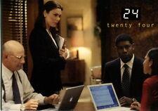 TWENTY FOUR 24 TELEVISION SHOW SEASONS 1 & 2 2003 COMIC IMAGES PROMO CARD P2