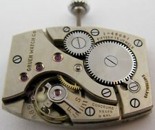 Gruen 485 watch movement & dial 15 jewels for parts ...