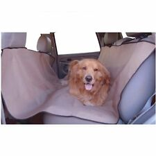 "Majestic Pet Universal Waterproof Hammock Back Seat Cover - Tan  56"" x 59"" - NEW"
