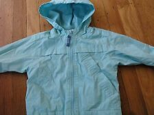 BABY GAP SPRING FALL JACKET SIZE 12 18 MONTHS COAT HOODED LINED WIND BREAKER EUC