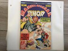 Marvel Special nr 1 , THOR , De Trojaanse Oorlog , Juniorpress strip , 1981