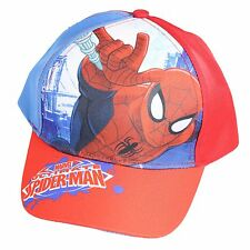 Oficial Verano Gorra Béisbol - Talla 52 - Marvel Spiderman - Rojo