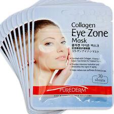 New Zipper Bag PUREDERM Collagen EYE zone mask 300 sheets(10x30sheets)
