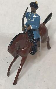 1950 Britains Toy Soldier India Bengal Lancer Officer W/ Sword Cavalry Regiment
