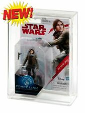 10 x GW Acrylic Display Case (only)-Force Link Carded Action Figure (Std Bubble)