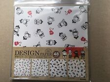 New product Japanese style DESIGN Paper,ORIGAMI,48Sheets,Made in Japan SAMURAI