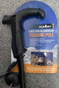Anti-Shock Hiking/Walking Trekking Cane/Stick Pole 3 Section Stability Aid UK