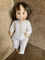 "ADORABLE , 12"" MID FIFTIES VINTAGE ,MADAME ALEXANDER  BABY DOLL: MARKED 19 c 65"