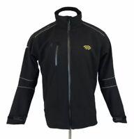 Helly Hansen Workwear Soft Shell Jacket Black Fleece Lined XL Mens