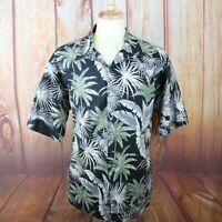 Tori Richard Men's XL Hawaiian Button Shirt 100% Cotton Lawn Hibiscus