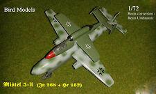 Mistel 5-II (Ju 268 & He 162) 1/72 Bird Models Resinumbausatz / resin conversion