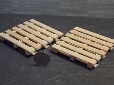 Dollhouse Miniature Unfinished Wood Pallets B 1:12 inc scale G54 Dollys Gallery