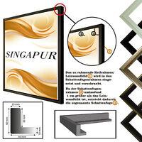 Schattenfugenrahmen SINGAPUR für Leinwand,- Keilrahmenbilder, Leinwandrahmen