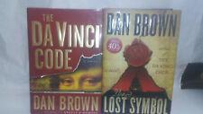 The Da Vinci Code & The Lost Symobol Dan Brown Both Books for ONE PRICE