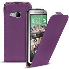 Slim Flip Cover Case HTC One Mini 2 Schutzhülle Handy Klapp Schutz Hülle Tasche