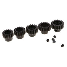 Brush Brushless Motor Gear 15T 16T 17T 18T 19T Pinion M1 5mm for 1/8 RC Car