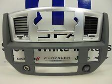 07-10 Dodge Ram 1500 2500 3500 New Instrument Panel Center Radio Bezel Mopar Oem