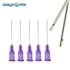 Easyinsmile 30 Gauge Needle Dental Endo Irrigation Needle Tips Purple 25pcpk