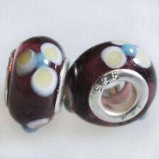 Charms y pulseras de charms de bisutería color principal amarillo de cristal