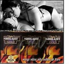 Dabur Shilajit Oro 10 cápsula vigor vitalidad Aumenta Sexo resistencia. (hierbas)