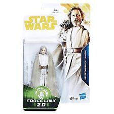 STAR WARS FORCE Enlace 2.0 Skywalker Luke (Maestro Jedi) 9.5cm FIGURA