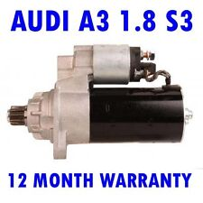 FITS Audi A3 1.8 S3 1996 1997 1998 1999 2000 2001 2002 2003 starter motor