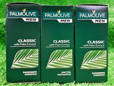 (3€/100g) 3X Palmolive for men RASIERSEIFE CLASSIC 50g Herren Pflegemittel!