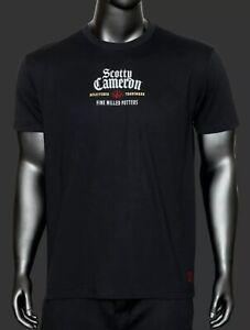 Scotty Cameron 2021 St. Patrick's Day Whiskey Label T-Shirt Black Small