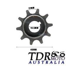 10T Clutch Gear Drive Sprocket Fit 49cc/66cc/80cc Motorized Bicycle Engine Parts